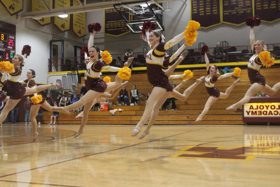 Maroon+Ramblerettes+participate+in+competition+as+they+work+towards+State.+The+team+took+second+place+at+the+CLDC+on+Sat%2C+Jan+19.+