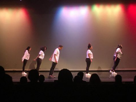 Dance students perform their interpretations of popular songs at this year