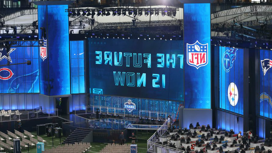 The+Draft+Stage+for+the+2018+NFL+Draft+in+Arlington%2C+TX